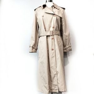 Saxton Hall Double Breasted Trench Coat